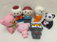 Assorted Squishies Dolls and Animals