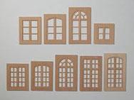 Sprossenfenster Holzrahmen