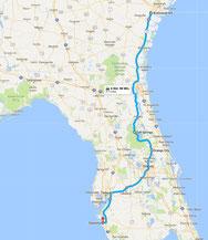 Strecke: 9. Tag (Google Maps)