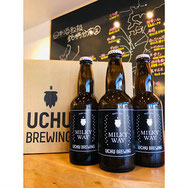 宇宙ビール   UCHU BREWING MILKY WAY
