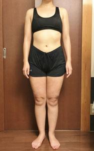 DNAパーソナル痩身コース体験後