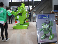 最終審査ロボット