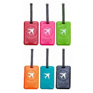 PVC luggage tags, bag tags