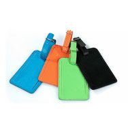 PU Leather luggage tags, bag tags