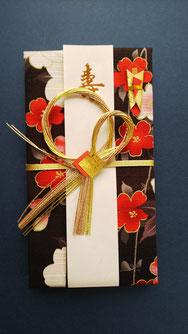 和紙の張り子の置物