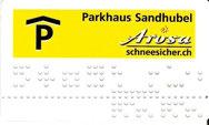 Dauerpark-/Mieterkarte Parkhaus Sandhubel