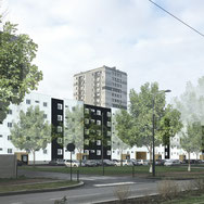 Résid. Québec - 80 logements collectifs au Havre (76)