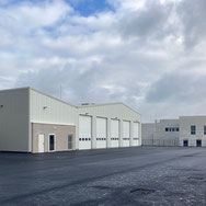 Construction du bâtiment hangar du CE du Neubourg (27)