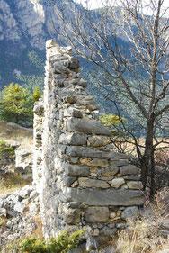 Ruines de l'Eyrette