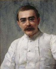 Rudyard Kipling, 1891, Portrait von John Collier