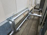 室外機 冷媒配管
