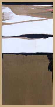 Un voyage au loin, collages d'Annie Baratz artiste peintre plasticienne