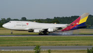 Asiana Airlines Cargo***B 747-48E(BDSF) ***HL7415