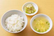ライスセット(スープ・漬物付)