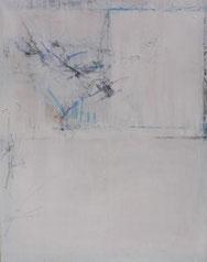 Weiß, Mischtechnik auf Leinwand, 80 x 100 cm, 2006