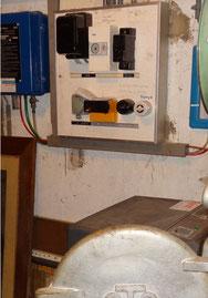 Tableau électrique face avant contient de l'amainate