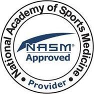 National Academy of Sports Medicine's logo