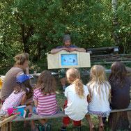 Geschichten erzählen für Kinder