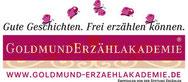 Logo der Goldmund Erzählakademie