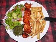 Abendessen: Chicken Tikka