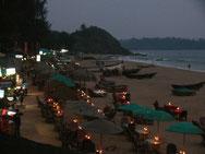 Abendstimmung am Patnem-Strand