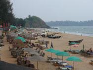 Patnem-Beach, Süd-Goa