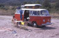 Mit VW-Bus in die Türkei 1990