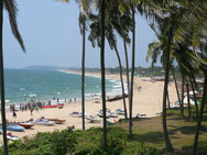 Strand bei Fort Aguada