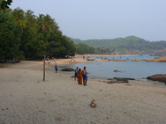 Om-Beach bei Gokarna