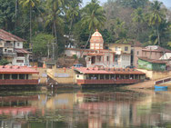Tempelsee in Gokarna