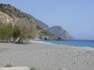 Strand Sougia, Kreta