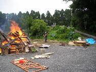 木材だけの焼却