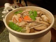 イカのつみれのスープ