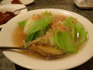 貝柱と野菜の炒め物