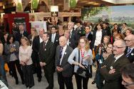 Inauguration de l'Espace Manche au Salon de l'agriculture, Paris