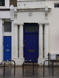 """Wohnungstür aus dem Film """"Notting Hill"""""""