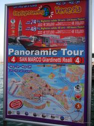 Plakat der Station 4: San Marco