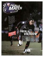 2010-03-13  PSG-Sochaux (28ème L1, Feuille de Match N°8)