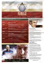 2010-02-28  Jubilé Luis Fernandez à Cannes (Programme officiel)