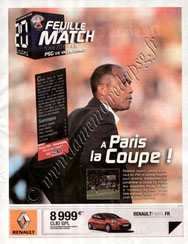 2010-05-05  PSG-Valenciennes (36ème L1, Feuille de match N°11)