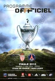 2010-05-01  PSG-Monaco (Finale CF au Stade de France, Programme officiel FFF)