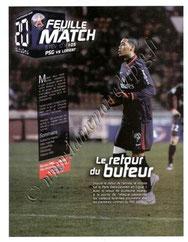 2010-02-06  PSG-Lorient (23ème L1, Feuille de match N°5)