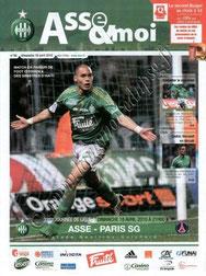 2010-04-18  Saint Etienne-PSG (33ème L1, ASSE & moi N°36)