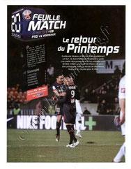 2010-04-10  PSG-Bordeaux (32ème L1, Feuille de match N°9)