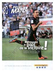2009-11-28  PSG-Auxerre (15ème L1, Feuille de match N°1)