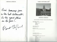...ce très bel instrument. Un très grand plaisir de le jouer !. Florent Boffard, pianiste exprime ainsi sa gratitude à Alain Genestoux, pour le piano Steinway modèle D 274 à Saint Emilion en Gironde (33)