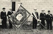 Fahnensegnung 1955