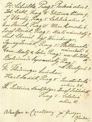 Einladung Rückseite 1896