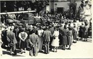 Segnung Löschfahrzug 1955
