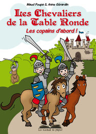 Chevaliers de la table ronde Anne Gérardin graphiste Brocéliande